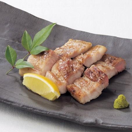 三田ポークの天然塩焼
